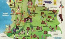Mapa de grupos étnicos de Colombia