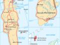 Mapa de la región insular de Colombia