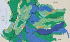 Mapa de lagos de Colombia