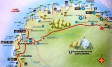 Mapa de playas de Colombia